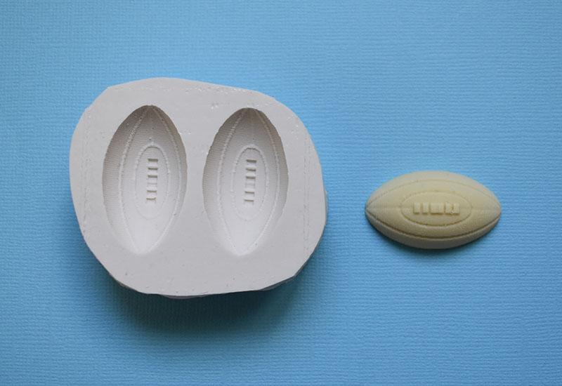 moule en silicone ballon de rugby