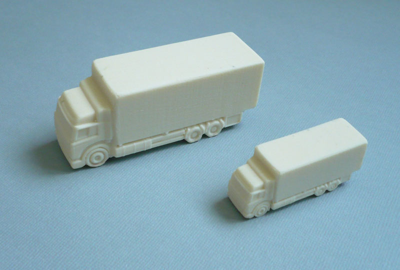 moule en silicone forme camion