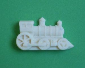 moule silicone locomotive train demi forme