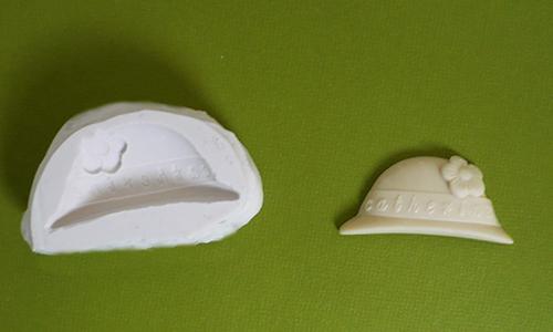 moule silicone sainte catherine catherinette chapeau