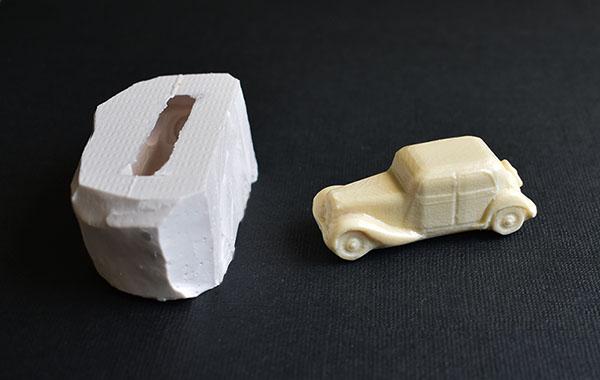 moule silicone voiture traction avant citroën