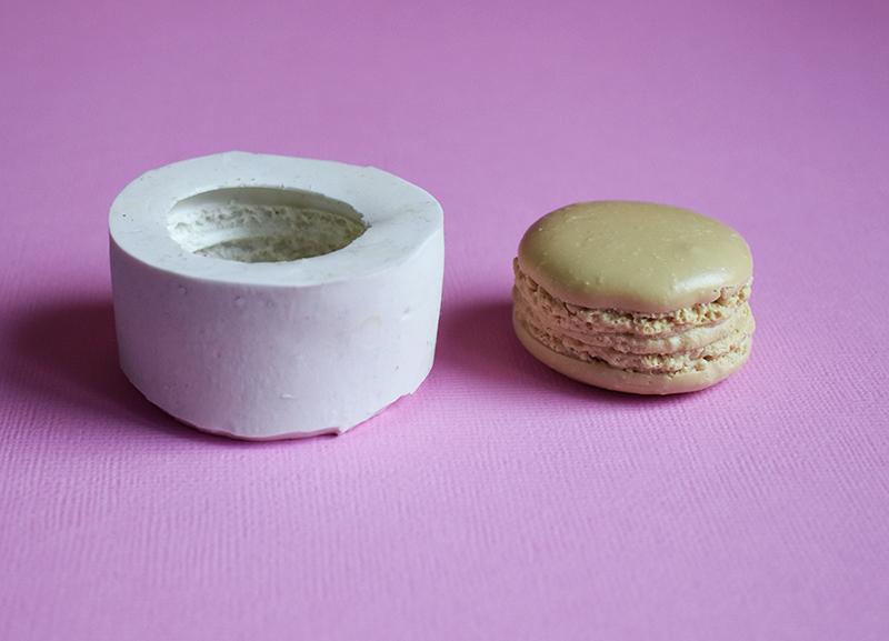 moule en silicone macaron gourmandise fimo