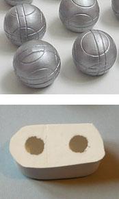moule en silicone pétanque boule