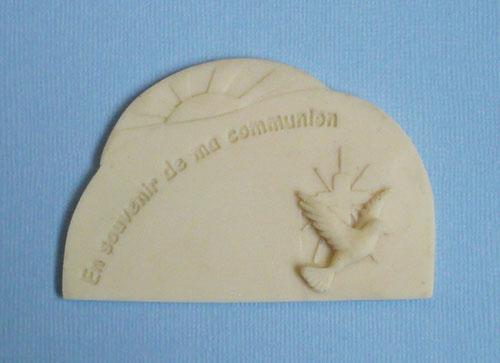 moule plaquette communion