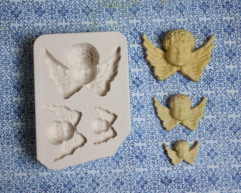 moule silicone ange trio